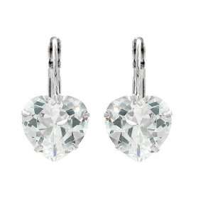 Perfect Gift   High Quality Elegant Heart Earrings with