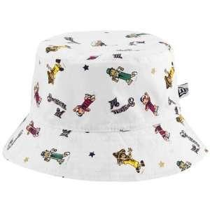 New Era Milwaukee Brewers Infant White Baby Bucket Hat
