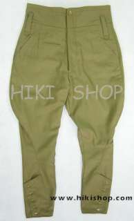 WWII Japanese army IJA officer breeches wool SIZE XL