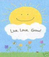 IMPRESSIONS LIVE, LOVE, GROW LARGE FLAG 0 33171 26588 6