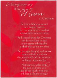 In Loving Memory of my Mum at Christmas