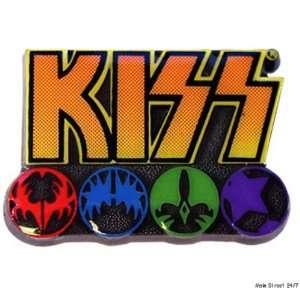 KISS Rock Band LOGO & ICONS 1 Metal / Enamel PIN