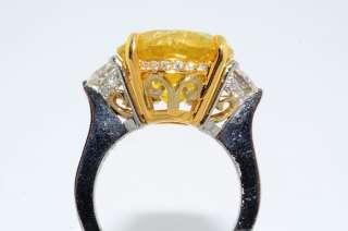 detailed description of item irradiated vivid fancy yellow diamond 10