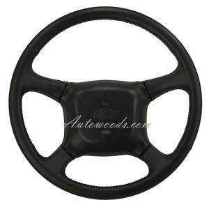 98   2002 Silverado Tahoe Leather Steering Wheel
