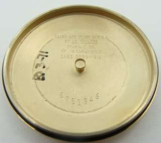 Jaeger LeCoultre 14K Vintage Memovox Alarm Auto Watch