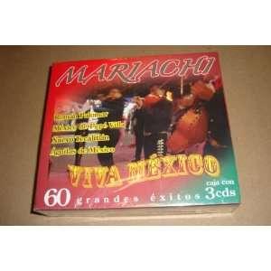 Mariachi Viva Mexico 60 Grandes Exitos 3cds Mariachi Viva Mexico