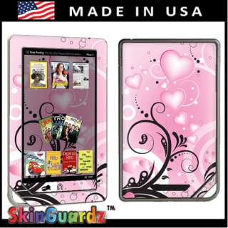 Pink For Love Vinyl Case Decal Skin To Cover  Nook Color
