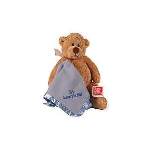 Personalized Manni 16 inch. Soft Blue Blanket http//www