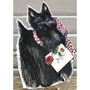 6 Carol Wilson Mailable Enclosure Cards Scottie Scottish