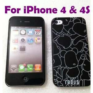 Radus iPhone Hard Case for Apple iPhone 4 / 4S Everything