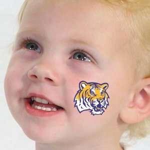 NCAA LSU Tigers Team Logo Temporary Tattoos: Home