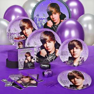 Justin Bieber Birthday Party Supplies and Favors   You Pick