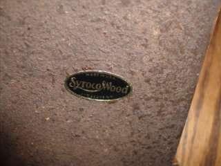Vintage 1940s Syroco Wood Trinket/Jewelry Box