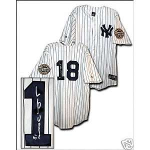 Johnny Damon Autographed Jersey 2009 New York Yankees Home Jersey