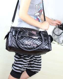Hellokitty Cute Pu Leather Lady Shopping Shoulder Hand Travel Bag Gift