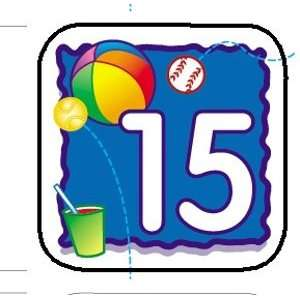 CALENDAR DAYS JUNE   BEACHBALL Toys & Games