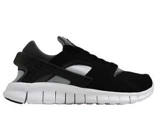 Nike Huarache Free 2012 Black/White Dark Grey Mens Running Shoes