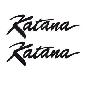 Bike Motorcycle Vinyl Decals Suzuki Katana Sport 010 Home