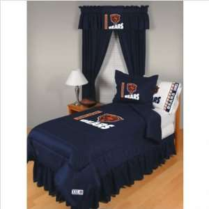 Bundle 81 Chicago Bears Comforter Full/Queen Home