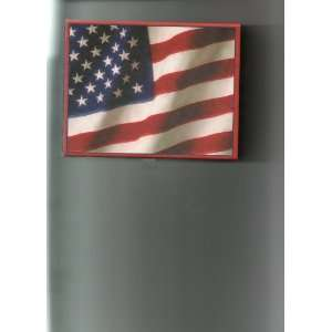 Box God Bless America    American Flag (former stationery/card box