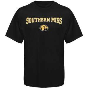 NCAA Southern Miss Golden Eagles Youth Black Arched
