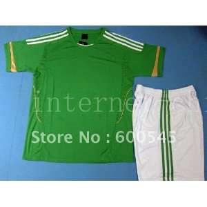 blue white black yellow red green soccer kits shirts Sports