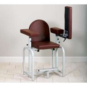 CLINTON LAB X SERIES BLOOD DRAWING CHAIRS Xtra tall uph seat & flip