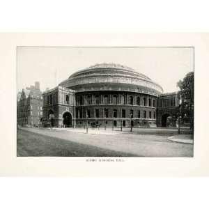 Print Royal Albert Memorial Concert Hall Kensington Westminster London