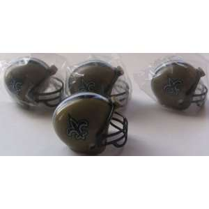 NFL Football Mini Helmets New Orleans Saints Pencil Toppers Vending