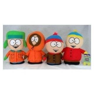 SOUTH PARK Cartman Kenny Kyle Stan Plush Doll Toy 4pc Toys & Games