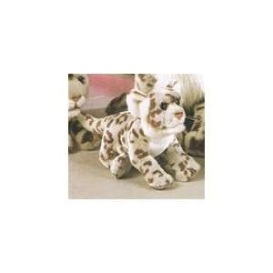 Plush 7 Inch Snow Leopard By SOS Toys & Games