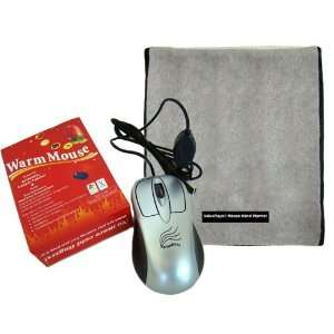 ® USB Warm Mouse & USB Mouse Hand Warmer®, Infrared Heating Pad