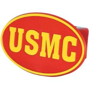U.S. Marines Trailer Hitch Cover (Red) Automotive