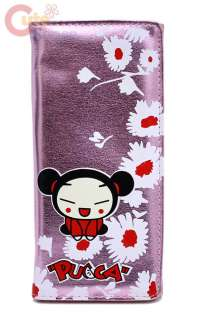 Pucca Long Wallet   Pink Flowers
