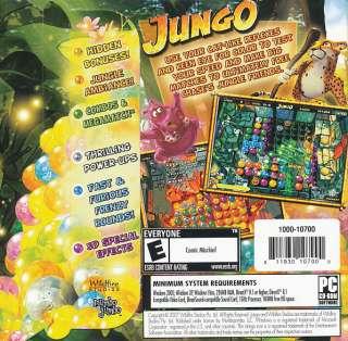 JUNGO Jungle Color Puzzle PC Game XP/Vista NEW $2 Ship 811930104030