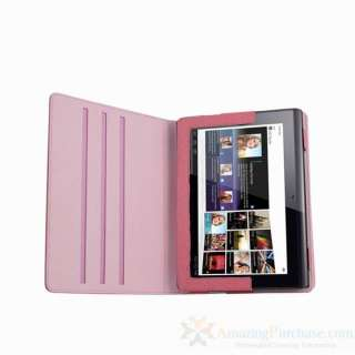 Rotating PU Case Cover Sleeve Skin for SONY Tablet S1 9.4 Adjustable