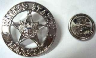 US MARSHALS USMS Police Federal Mini Badge Lapel PIN