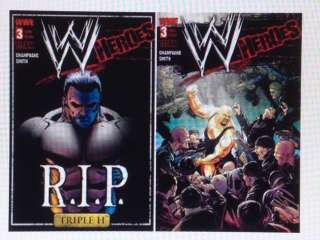 WWE HEROES #3 TITAN COMICS COMIC BOOK NEW Keith Champag