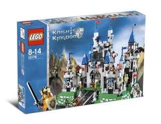 Lego 10176 Knights Kingdom Royal Kings Castle NEW