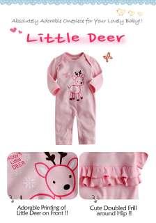 NWT Vaenait Baby Newborn & Baby Girls Pink Outwear Bodysuit  Little