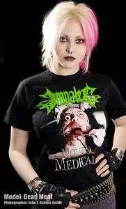 IMPALED shirt MONDO MEDICALE DEATH METAL GRINDCORE GORE
