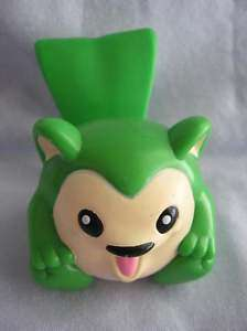 Burger King green Meerca Neopets plastic toy figure