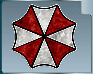 UMBRELLA CORPORATION Logo Vinyl Decal Resident Evil