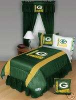 GREEN BAY PACKERS 4PC TWIN BEDDING SET New NFL Boys