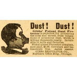 Face Mask Medical Safety Chicago   Original Print Ad