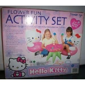 Hello Kitty Flower Fun Activity Set