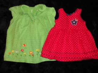 44 PIECE LOT BABY GIRLS SPRING SUMMER CLOTHES SIZE 18 24 MONTHS, SHOES