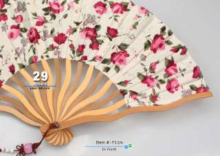So Beautiful Ladies Hand Fan Japanese Folding Fan Sensu
