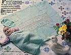 Just Ducky Baby Set/Bunting/Hat & Afghan/Crochet Pattern Instructions