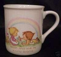 BETSY CLARK FRIENDS 1985 HALLMARK MUG MATES COFFEE CUP